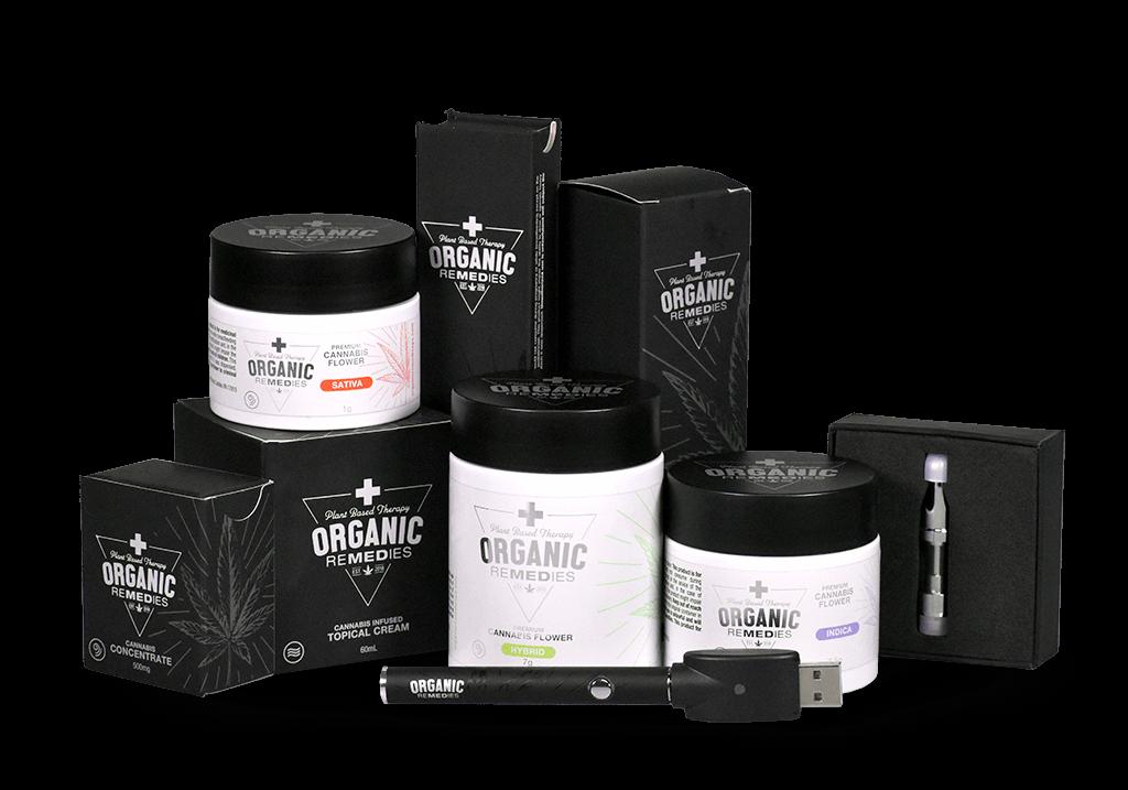 Organic Remedies Medical Marijuana Product Line