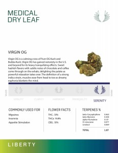 VIRGIN OG - Dry Leaf Marijuana