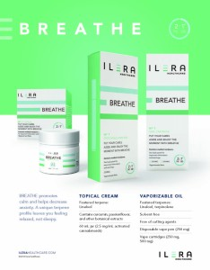 ILERA BREATHE - Topical cream and vaporizable oil